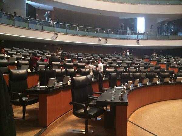 Cámara de Senadores vacía en homenaje a Gabriel García Márquez