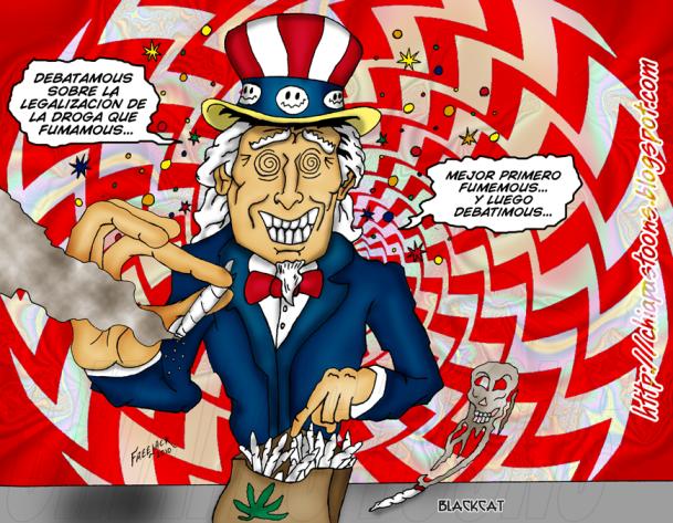 Gobierno de Estados Unidos mueve más droga que los narcos latinoamericanos