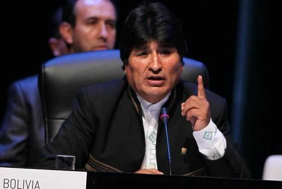 EU genera desorden en el mundo para dominar y saquear naciones: Evo Morales