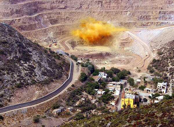 Deja Minera San Xavier destrucción y daños irreversibles en San Luis Potosí