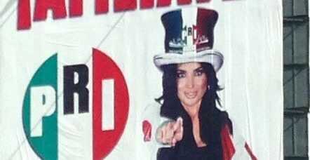 El PRI-DF utiliza imagen de Kim Kardashian en campaña de afiliación