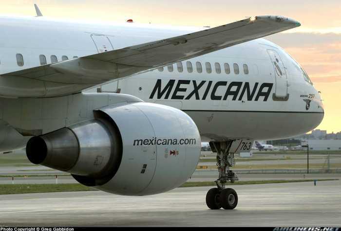 """""""Bajan del aire"""" a Mexicana de Aviación, la declaran en quiebra"""