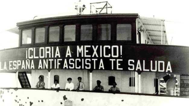 Exiliados-españoles