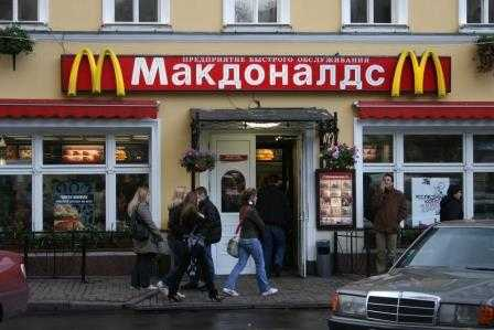Putin propone construir restaurantes rusos que compitan con McDonald's