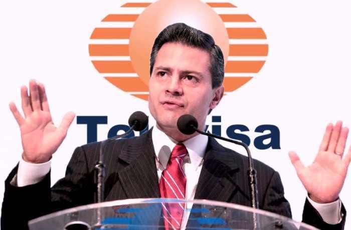 Peña Nieto destinó 28% del gasto en publicidad a Televisa y TV Azteca