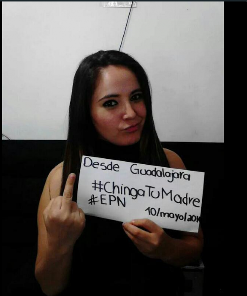 #ChingueAsuMadreEPN Trending Topic mundial