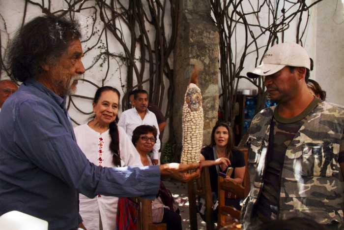 Francisco Toledo en defensa del maíz nativo y la soberanía alimentaria