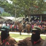 Reaparece el subcomandante Marcos en homenaje a Galeano