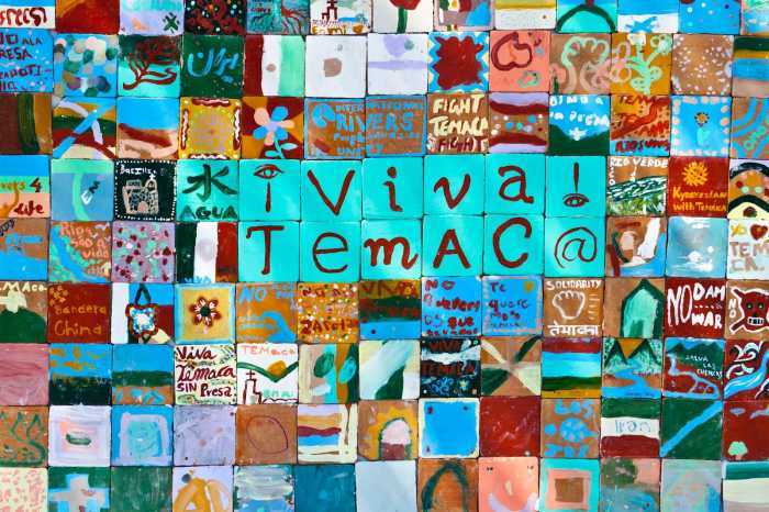 Temacapulin mosaico