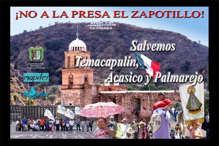Temacapulín, símbolo mundial contra la privatización de los ríos