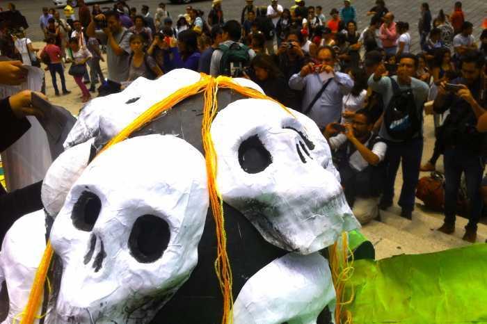 La Marcha contra Monsanto fue simultánea en más de 350 ciudades en todo el mundo Foto: regeneracion.mx