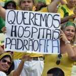 Mundial de futbol Brasil 2014: Las protestas violentas serán reprimidas