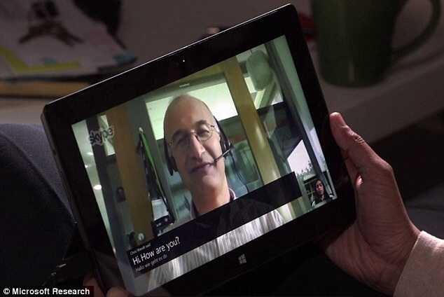 Traductor simultáneo de Microsoft para Skype Foto: Microsoft research