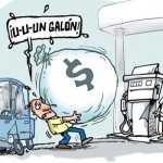 En México, llenar un tanque de gasolina cuesta una semana de trabajo