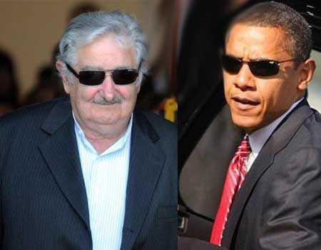 Mujica hablará con Obama de Guantánamo y legalización de Marihuana