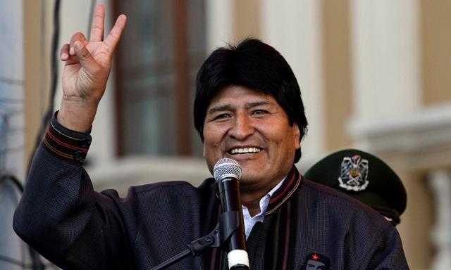 Evo Morales se postularía para los comicios del 2019