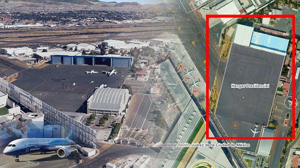 Hangar presidencial, construído por Grupo Higa presenta sobre precio de 141 mdp