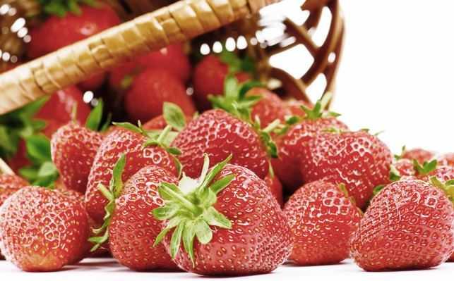 Milagros de la fresa para la salud