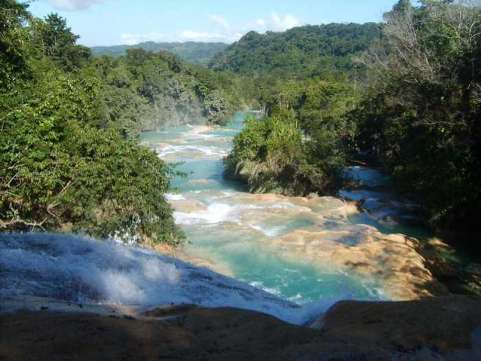 Montes azules, México