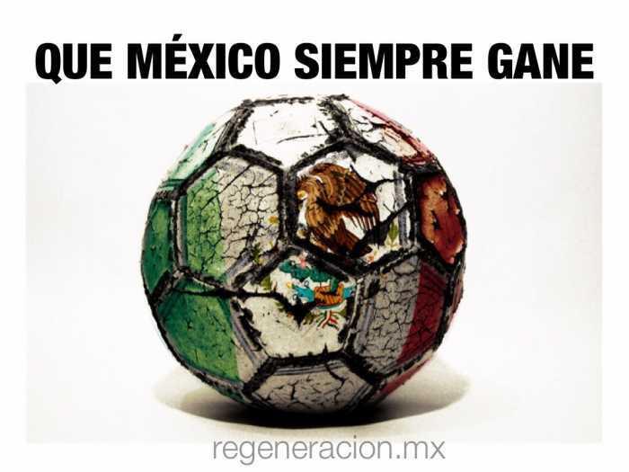 Con México no se juega: protesta frente a Televisa