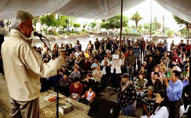 López Obrador confía en maestros de Oaxaca