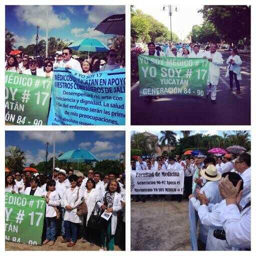 Apoyo desde Mérida, Yucatán