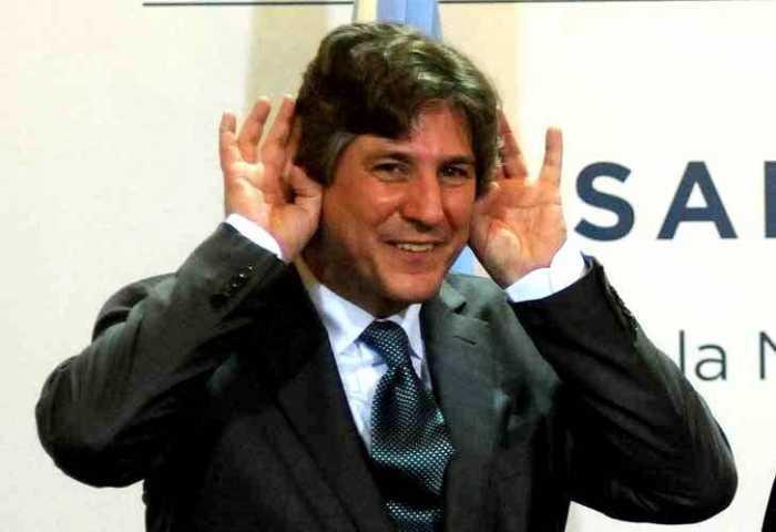 Amado Boudou, vicepresidente de la Argentina procesado por casos de corrupción