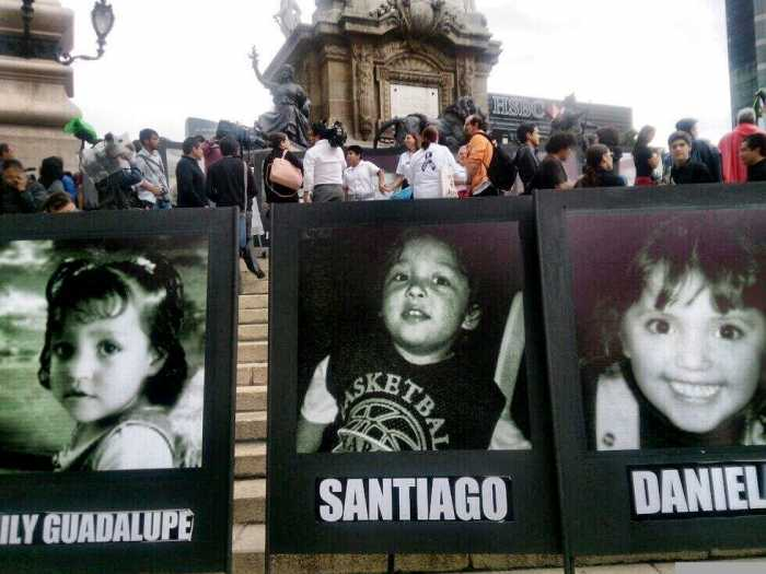 A 8 años de la tragedia marchan y exigen justicia por Guardería ABC