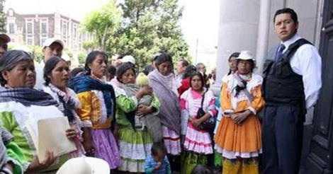 Libres, 7 mazahuas detenidos desde 2010 por falsos cargos