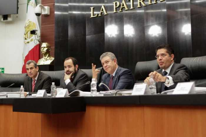 Reunión de las comisiones unidas de Energía y de estudios legislativos