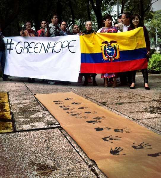 Comité de apoyo México-Ecuador Foto: Regeneración
