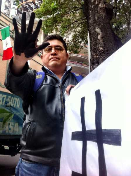 Campaña antichevron en demanda de justicia para Ecuador Foto: Regeneración