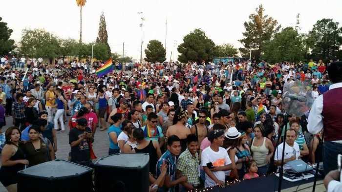 Marcha de las Diversidades Sin Fronteras en Cd. Juárez