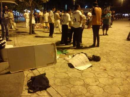 Agreden a simpatizantes de Morena en Cancún