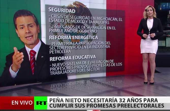 Medio internacional señala las promesas incumplidas de Peña Nieto