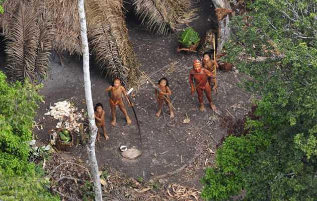 Brasil: indígenas aislados establecen contacto desesperados por la deforestación