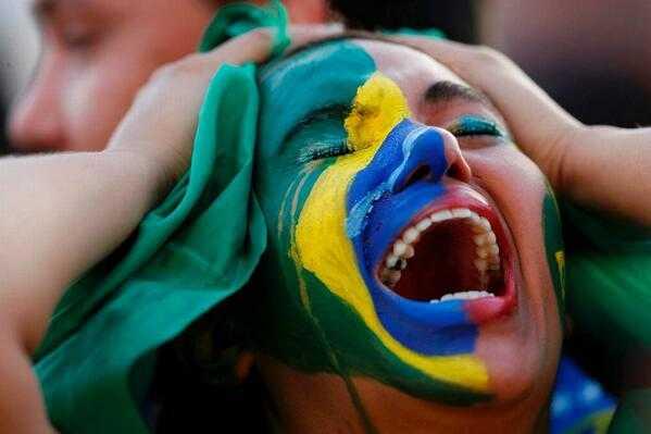 Brasil: llanto e insultos contra la selección y la presidenta Dilma Rousseff