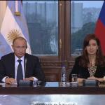 Vladímir Putin: Argentina es el principal socio estratégico de Rusia en América Latina