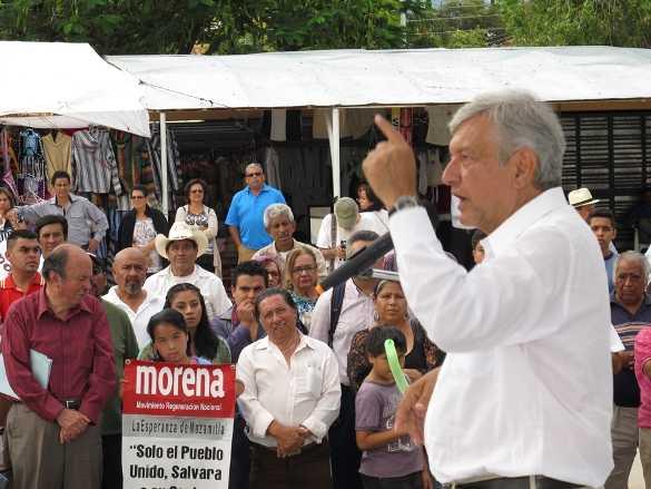 Reforma Energética sin beneficios para los mexicanos, sólo favorece a extranjeros: AMLO