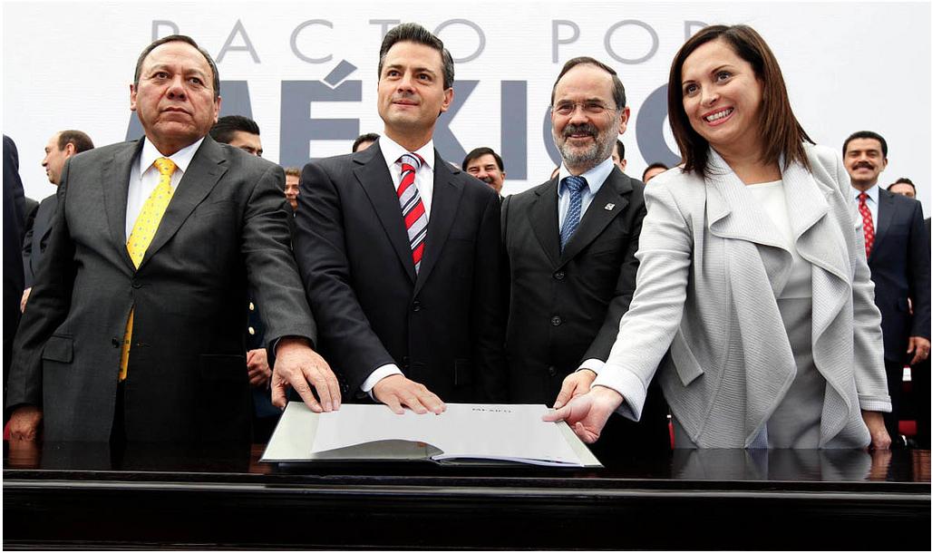 Firma del Pacto por Mexico