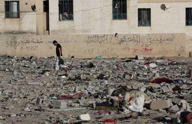 Israel anuncia cese de bombardeos durante cinco horas sobre Gaza