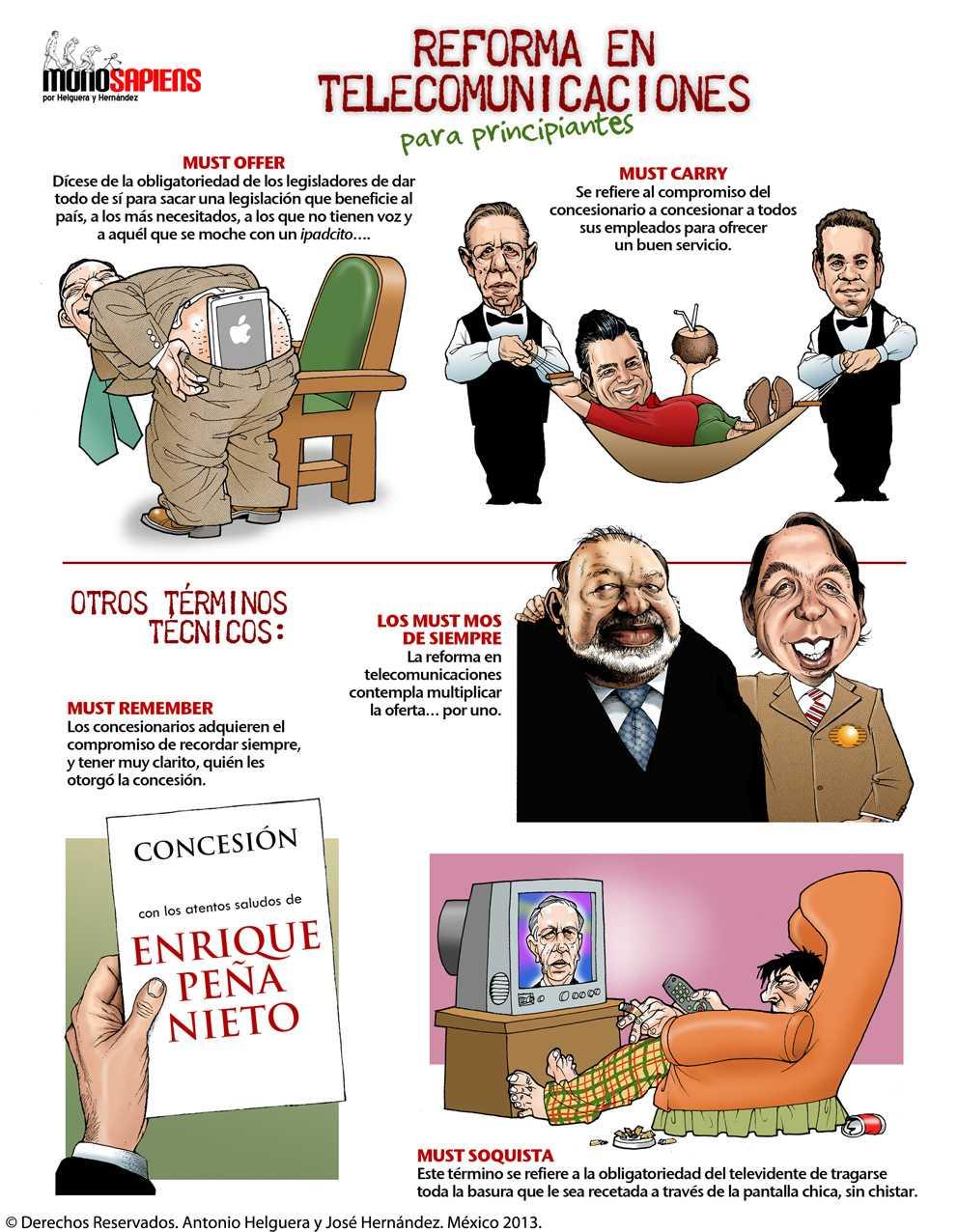 Monosapiens por Helguera y Hernández