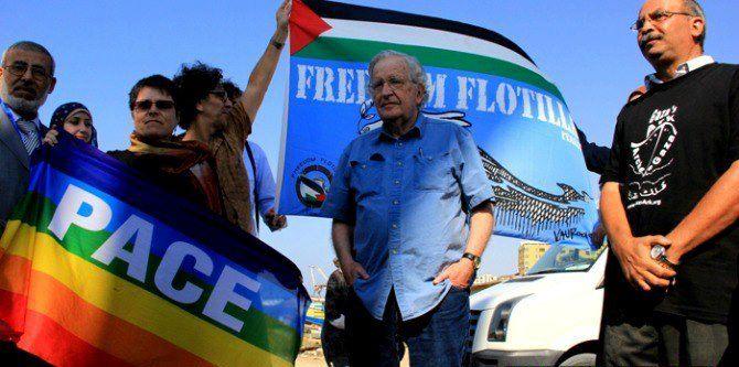 Chomsky acusa a Estados Unidos de ser responsable del genocidio en Gaza