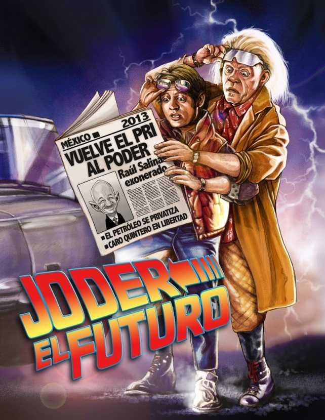 Historieta: Joder el futuro