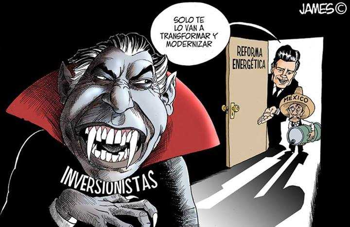 Vampiro reforma energetica