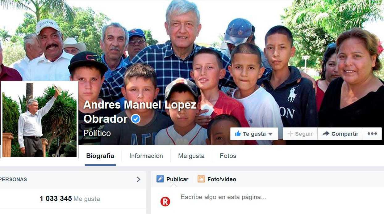 Facebook pudo haber ocultado mensaje de AMLO