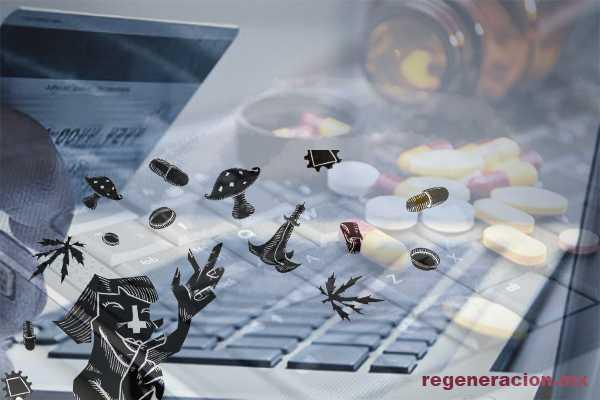 Comercio de drogas prospera en las sombras de Internet