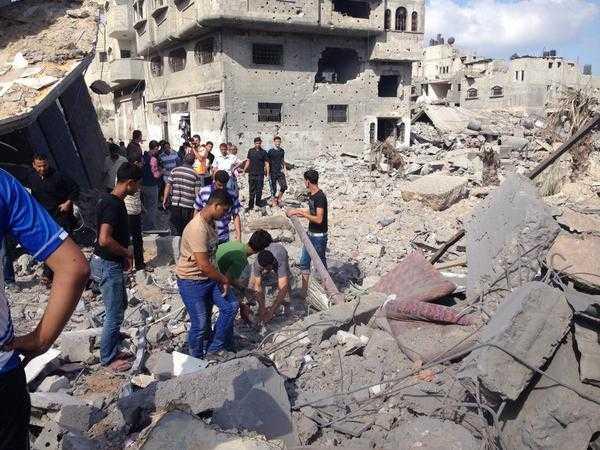 Gaza: Tierra quemada, arrasada y 1000 palestinos asesinados