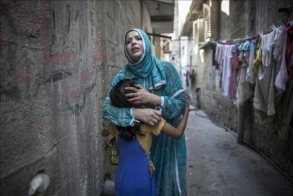 Diluvio de fuego sobre la Franja de Gaza; suman más de 1.230 palestinos muertos