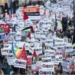 Ciudadanos del mundo piden que cese la agresión de Israel contra Gaza